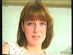 Busty british redhead - Teasing