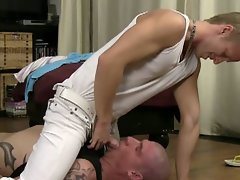 Young twink face fucks his hunky coach