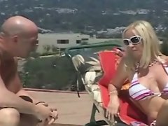 Totally tabitha from gentonline seduces pool guy