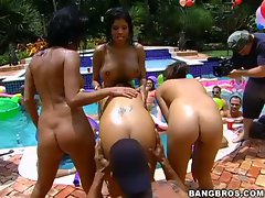 Another wild bangbros pool orgy party