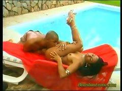 Brazilian erotic babe blowjob!