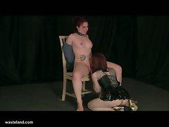 Wasteland lesbian bondage sex movie