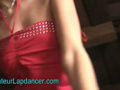 Czech amateur teen lucy does a pov strip and lapdance for money
