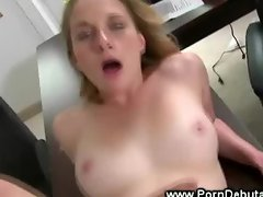 First time porn audition