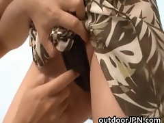 Arisa Kuroki Naughty Asian doll is busty part1