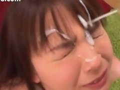 Compilation of Japanese Jizz Facials