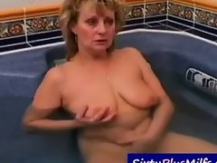 GILF wants the attention of big hung stud