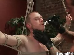 Hardcore gay guys in extreme gay BDSM part4
