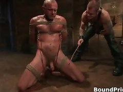 Very extreme gay BDSM free porn clips part1