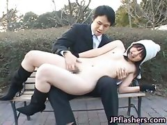 Free jav of Japanese flasher gets some part3
