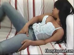 Ass stacked bigtits ebony playing part2