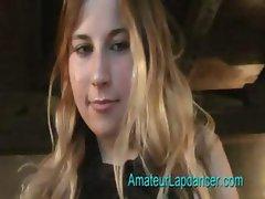 Gorgeous czech teen lapdance