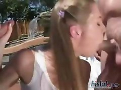 High quality bimbos sucking on cocks compiled for  our viewing pleasure
