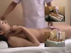 Asian girl gets more than a normal massage