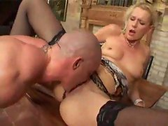 German MILF gets screwed by employee