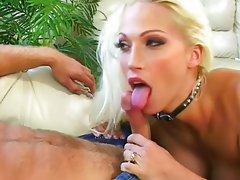 Horny Nicki blows him wild