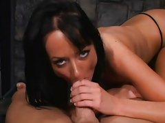 Melissa Lauren swallows every drop