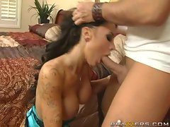 Horny Mya Nicole has a mouth hungry for a long schlong