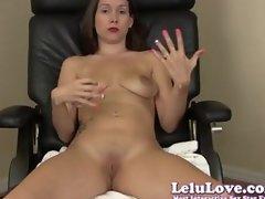 Lelu Love-Teacher Striptease And Closeups