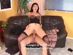 RED PUSSY AND BIG HARD COCK ROCKING