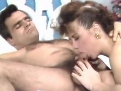 Oral and cock fuck for retro girl