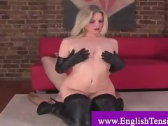 Domina punishes sex slave by face sitting