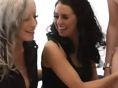 Cockloving cfnm girls playing with dick