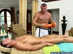 Horny straight guy gets off