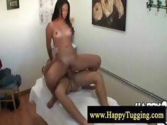 Horny asian sex massage