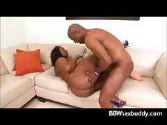 Massive Ass Ebony BBW fucks a big black cock