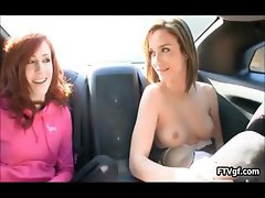 Two perfect American girls love showing part3