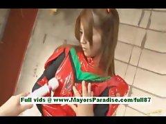Koko ishihara sweet japanese chick gets her tits rubbed
