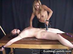 Extreme lesbian bondage porn 1by part2