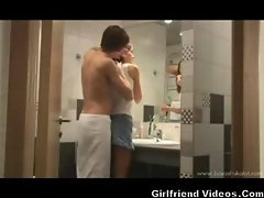 Girlfriend Sex In The Bathroom
