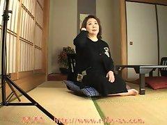 Corpulent Kimono Granny