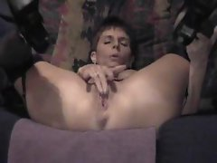 Older Lady Having A Great Orgasm