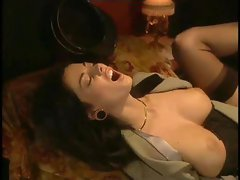 Italian Whore Fucked In A Train!