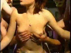 Hardcore French orgy!