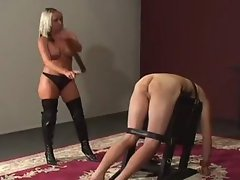 femdom whipping and caning
