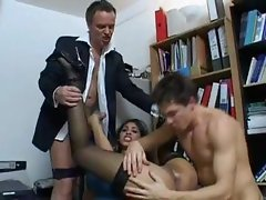 Sahara Knite - Office Sluts