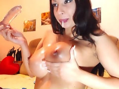 Huge Rack Masturbates and Gets Really Wet Hd