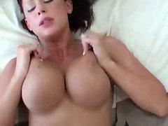 Smart slut rides a cock