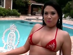Soraya Carioca bares her MASSIVE brazilian ass and gets her sweet asshole reamed