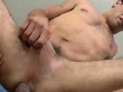 Tight white guy gets black dick up him