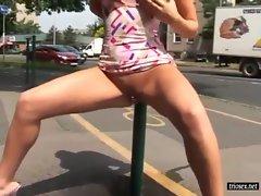 Kinky Public Pissing