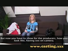 Casting - creampie for nervous teen