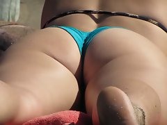 sexy ass on the beach