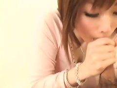 Japanese Hottie Mizuki Blow Job