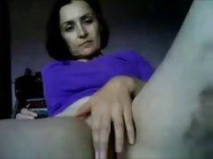 Mature amateur mother MILF on webcam