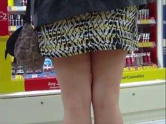 Mini dress and heels